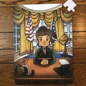 Girl President 54 Piece Puzzle