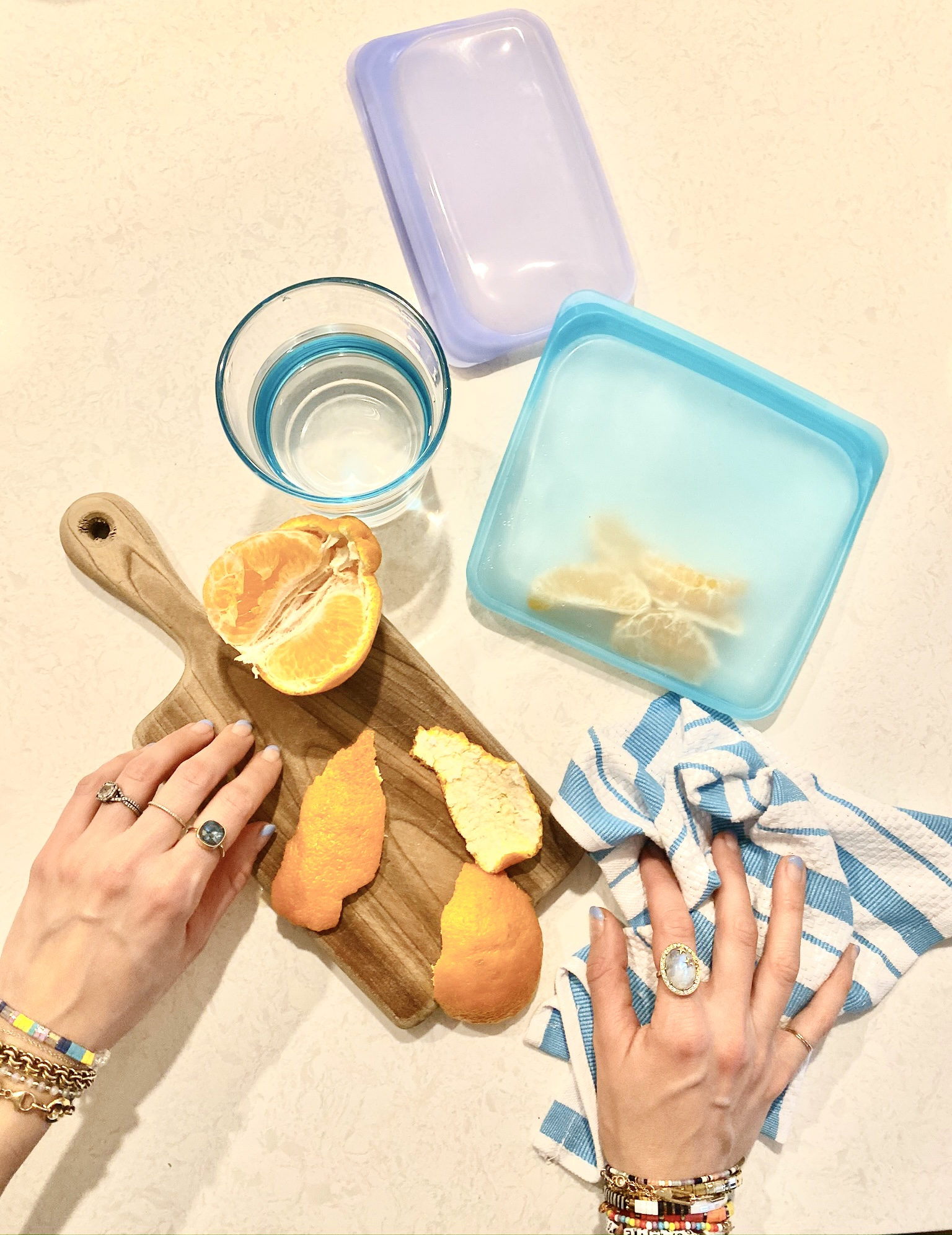 Founder in the Kitchen: Plastic Product Swaps