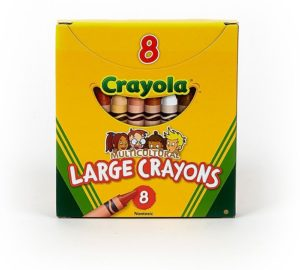 Multicultural crayola crayons