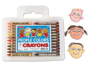 People Colors Crayons