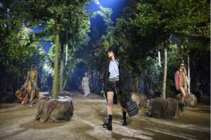 Dior Fall/Winter 2020 environmental runway show