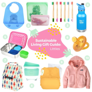 Sustainable living gift guide: Littles