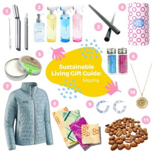 Sustainable living gift guide: Moms